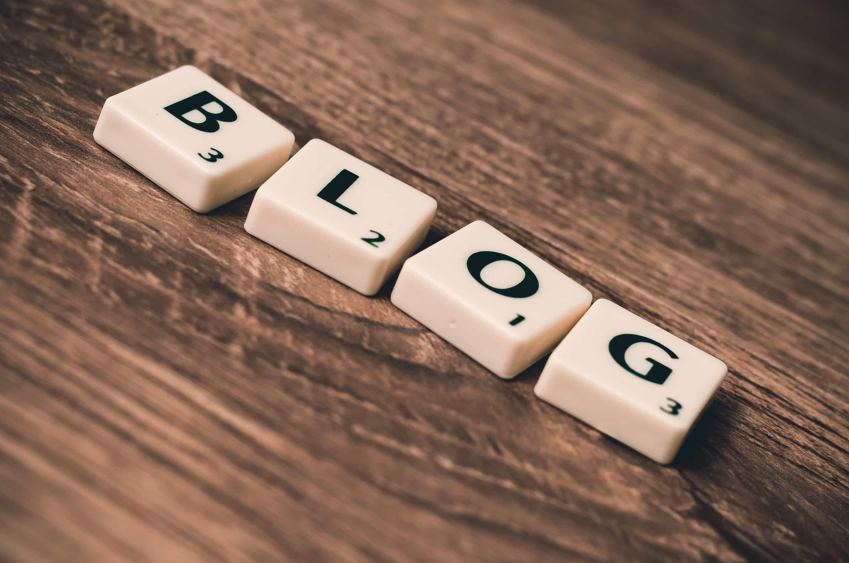 Branding page - Blog